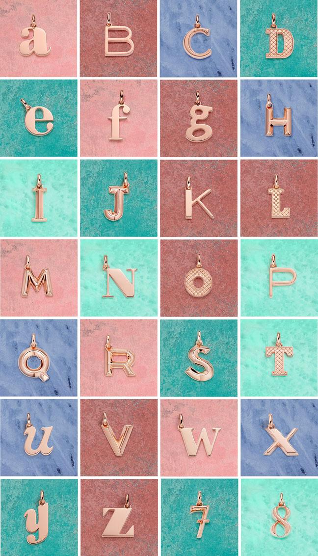 Alphabet Collection Wallpaper
