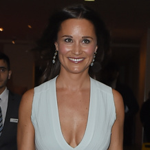 Pippa Middleton wears Monica Vinader Siren Cocktail Earrings and Capri Cuff.