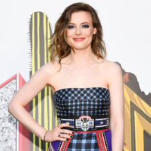 Gillian Jacobs wearing Diva cocktail ring