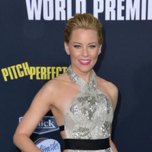Actress Elizabeth Banks wears Monica Vinader Gold Baja Diamond Ring to the Pitch Perfect 2 Premiere in Los Angeles. Shop the collection for free delivery.
