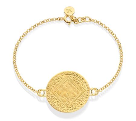 Gold Vermeil Mini Marie Bracelet - Monica Vinader