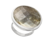 Round Facet Ring - Monica Vinader