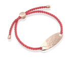 Rose Gold Vermeil Bali Friendship Bracelet - Candy - Monica Vinader