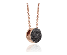 RP Pave Chain Necklace - Spinel - Monica Vinader