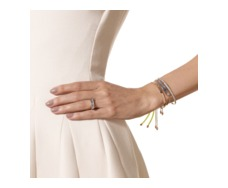Rose Gold Vermeil Baja Chain Bracelet - Grey Agate - Monica Vinader
