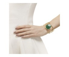 GP Siren Hero Cuff - Green Onyx - Monica Vinader