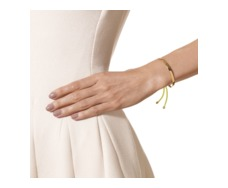 Gold Vermeil Fiji Friendship Bracelet - Fluoro Yellow - Monica Vinader