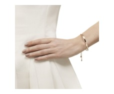 Rose Gold Vermeil Fiji Chain Friendship Bracelet - Monica Vinader