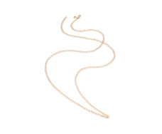 Rose Gold Vermeil Mini Lungo Chain Necklace - Monica Vinader