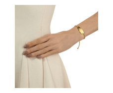 Gold Vermeil Bali Friendship Bracelet - Yellow Gold - Monica Vinader