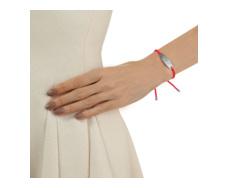Bali Friendship Bracelet - Pink Fluoro - Monica Vinader