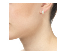 Gold Vermeil  Baja Small Earrings - Monica Vinader