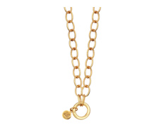 Gold Vermeil Lungo Chain Necklace 32 Inch - Monica Vinader
