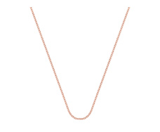 Rose Gold Vermeil Rolo Chain 24