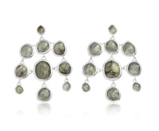 Siren Chandelier Earrings - Labradorite  - Monica Vinader