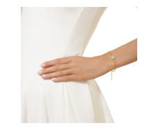 Gold Vermeil Atlantis Gem Mini Bracelet - Turquoise - Monica Vinader
