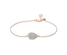 Rose Gold Vermeil Alma Bracelet - Diamond