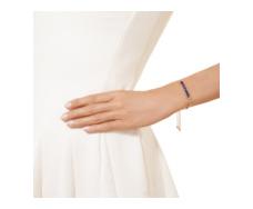 Rose Gold Vermeil Baja Precious Bracelet - Blue Sapphire & Diamond - Monica Vinader