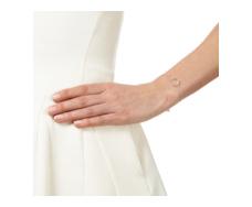 Diva Circle Open Bracelet