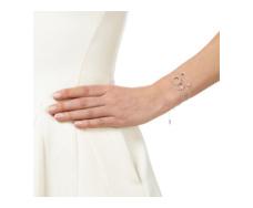 Diva Rectangle Open Bracelet - Diamond