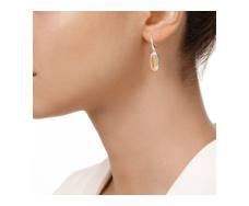 Vega Drop Earrings - Citrine
