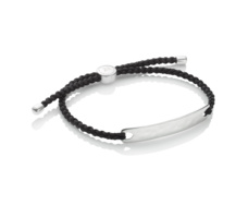 Havana Mens Friendship Bracelet - Black