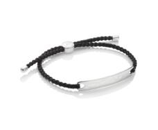 Havana Mens Friendship Bracelet - Black