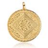 Gold Vermeil Mini Marie Pendant - Monica Vinader