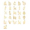 Gold Vermeil Alphabet Pendant K - Monica Vinader