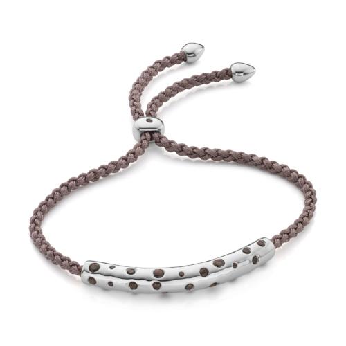 Esencia Scatter Friendship Bracelet - Mink - Monica Vinader