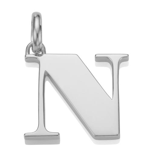 Alphabet Pendant N