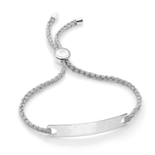 Havana Friendship Bracelet - Silver Metallica