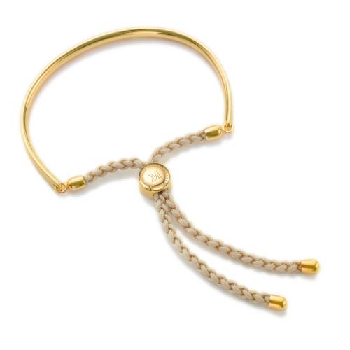 Gold Vermeil Fiji Friendship Petite Bracelet - Nude